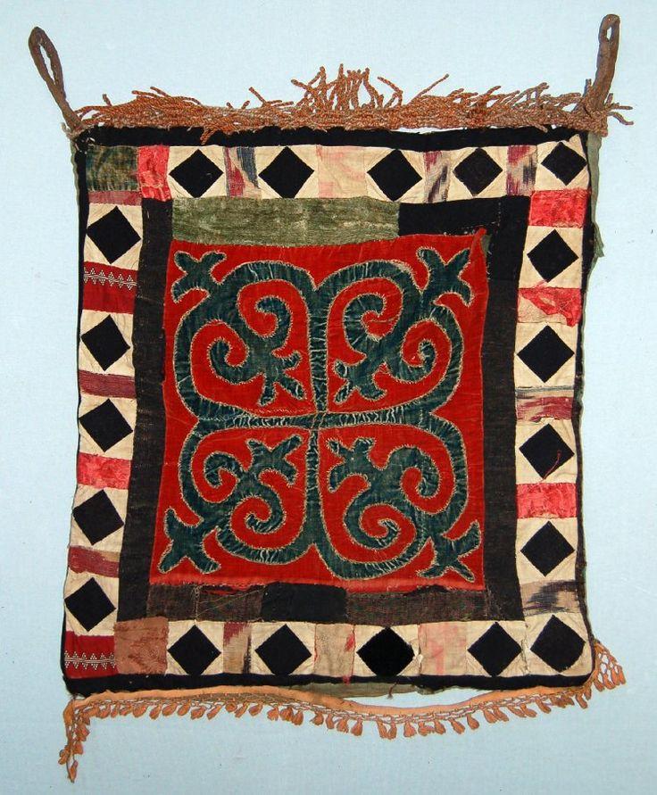 Kyrgyz Tent cloth; made of cotton... British Museum
