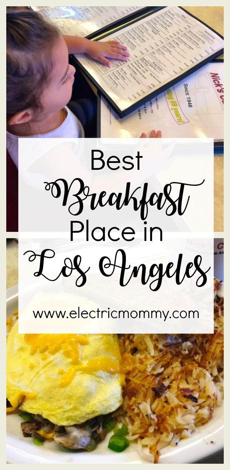 Best Breakfast Place In Los Angeles Restaurants La Top Spot Places To Eat