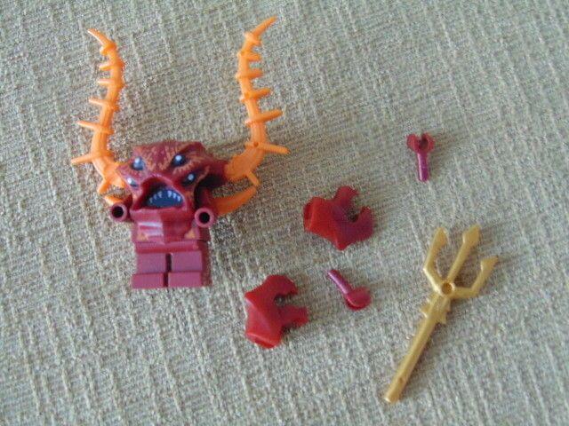 Mini Fig // Mini Figure Lobster Guardian Atlantis LEGO 7985