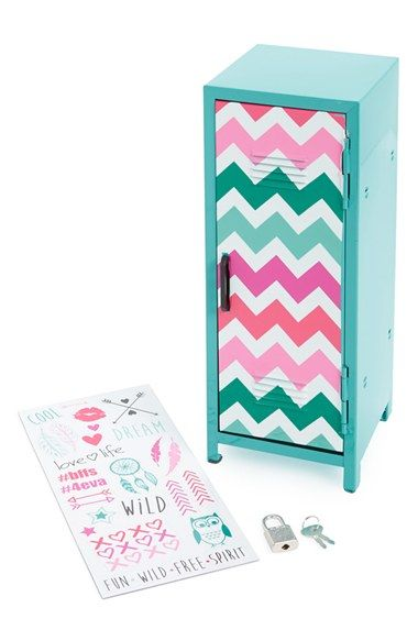 Free shipping and returns on Capelli of New York Personal Storage Locker at Nordstrom.com. She'll stash her jewelry and most prized possessions in a chevron-front miniature locker that comes with 24 super-fun magnets for a customized, change-it-up look.