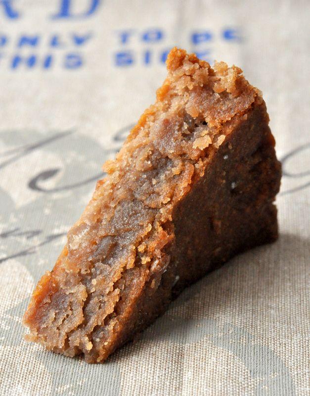 Fondant aux marrons, sans gluten