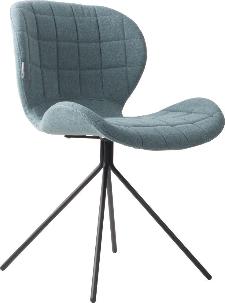 OMG stoel - Zuiver - blauw