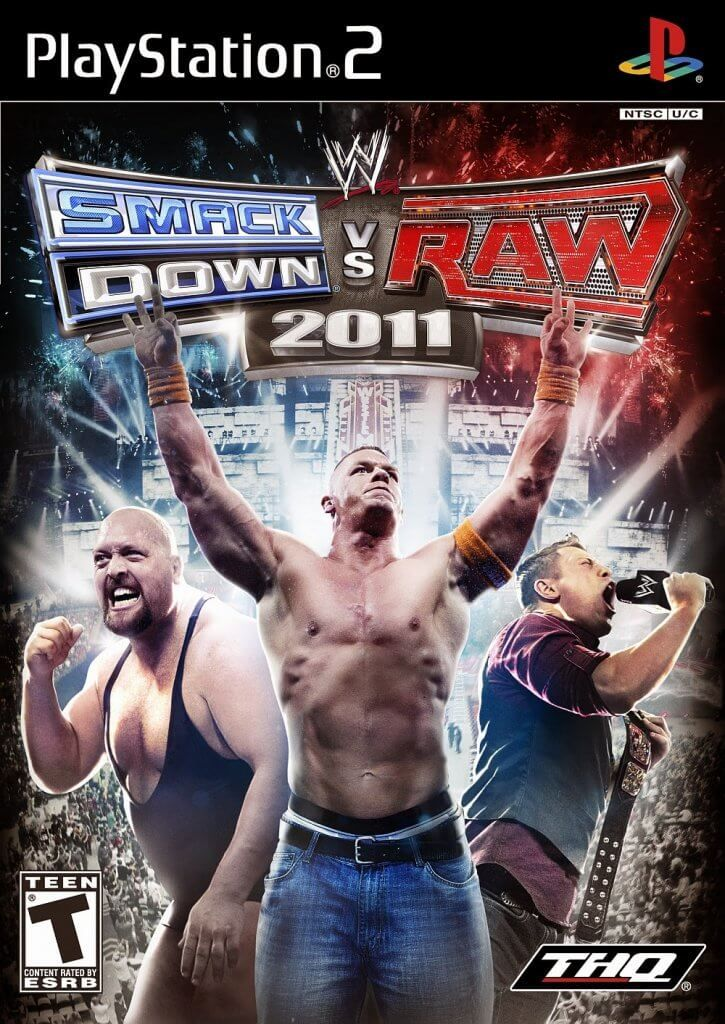 Game Pc Rip Wwe Smackdown Vs Raw 2011 Pal Español Ps2 Luchas Wwe Imagenes De Video Juegos Wwe Lucha