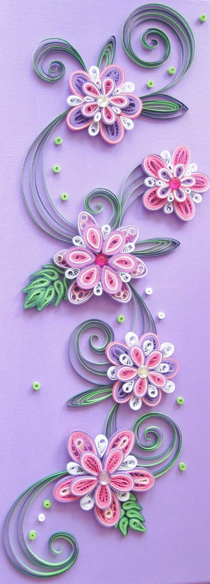 807 best quilling and paper sculpture images on pinterest for Paper quilling designs