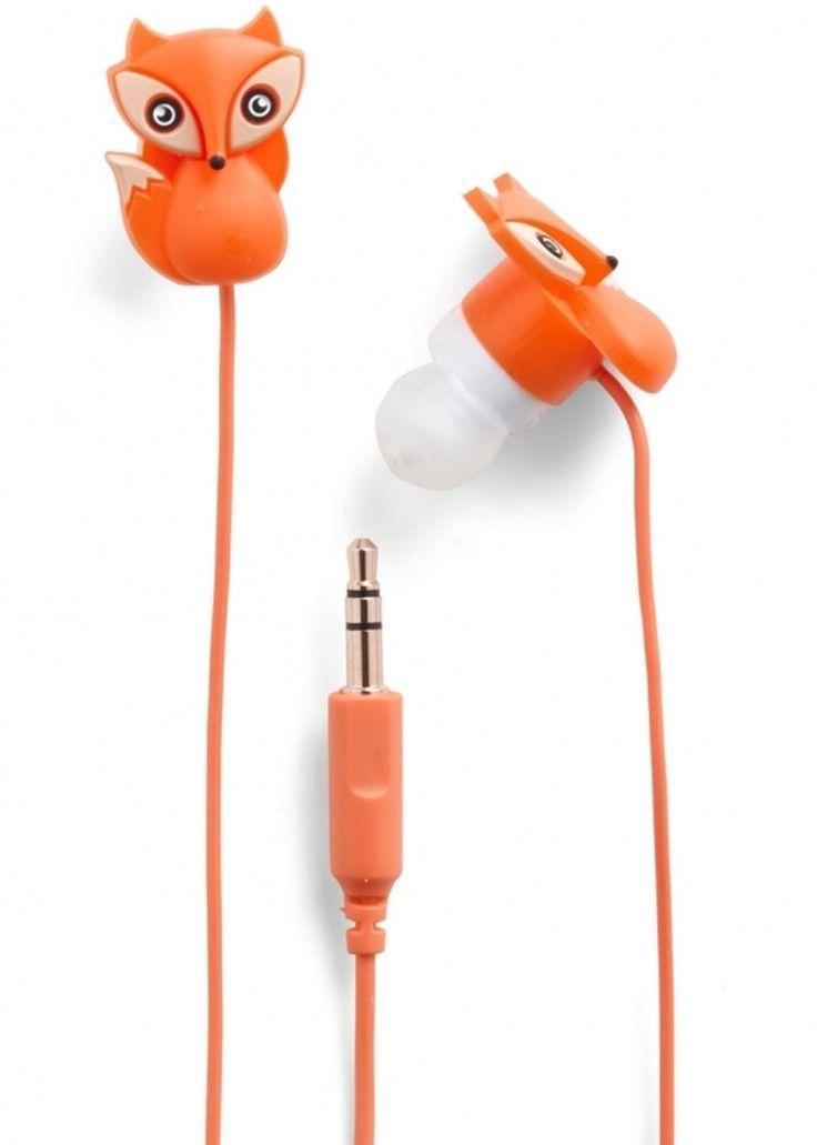 11. le #renard et les écouteurs #sonores - 35 écouteurs qui #rendent l'écoute fière #allure... → #Music