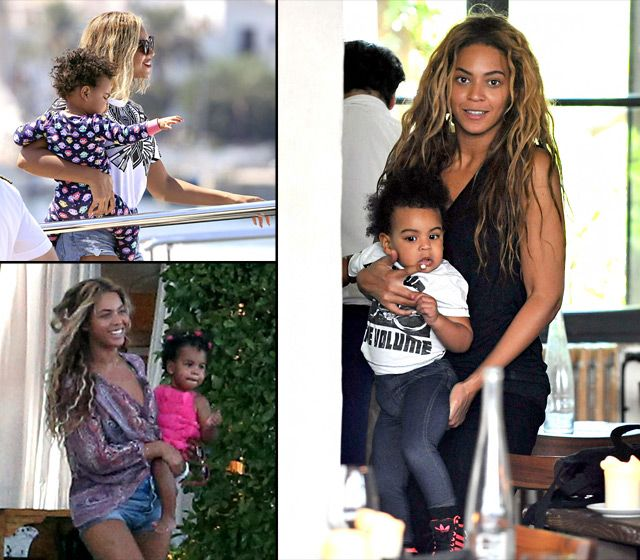 "Click through to see how Blue Ivy (otherwise known as Bey's ""homey and best friend"") is growing up in the limelight!"
