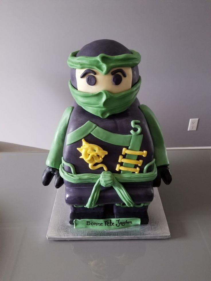 Ninja go birthday cake
