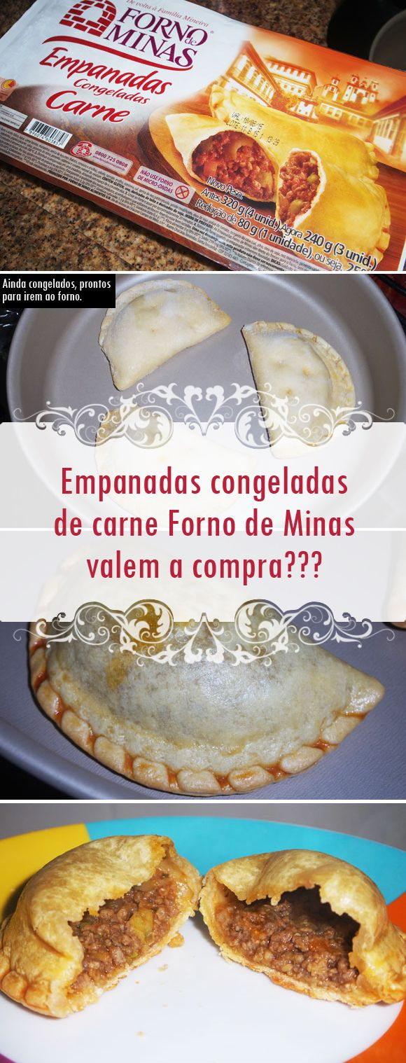 Provei as empanadas congeladas de carne da Forno de Minas e contei tudo o que achei desse lanche. Vem conferir se vale a pena comprar e a minha opinião! ;)