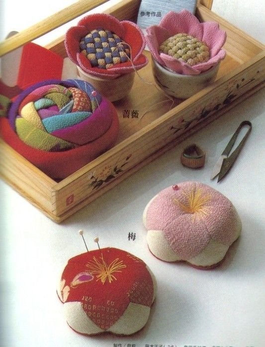 Pin cushions tutorial