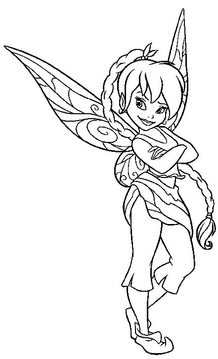 fairy graphic outline coloring pages | 93 best Outlines // FAIRIES images on Pinterest