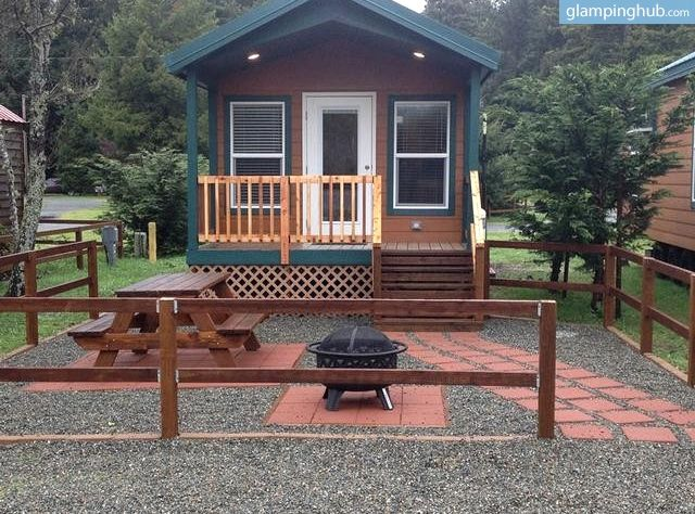 Luxury Camping Crescent City Redwoods