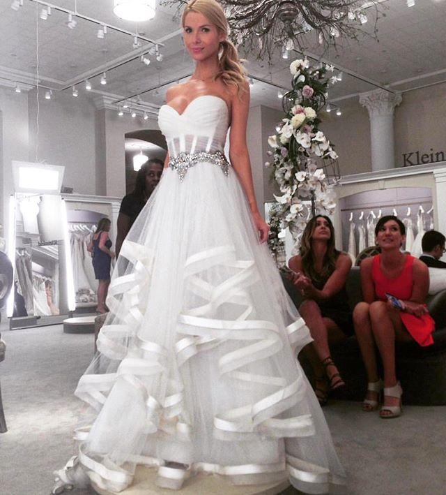 323 best images about wedding dresses on pinterest for Kleinfeld wedding dress designers