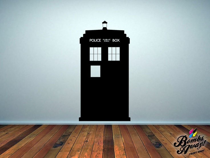 Tardis Wall Sticker Part 49