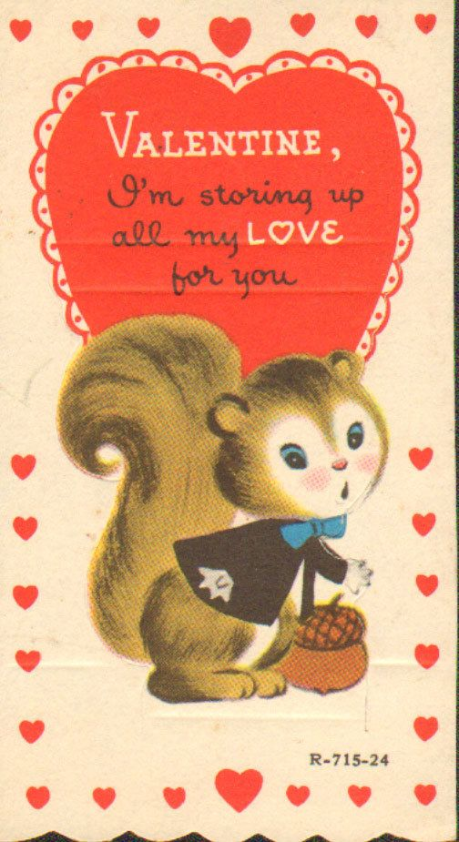 Vintage Valentine Card Love Is A Many Splended Thing Vintage