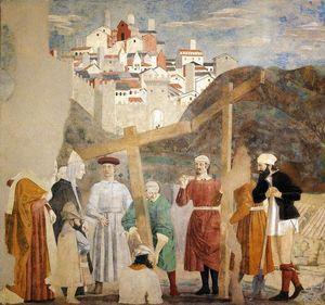 Invention de la Vraie Croix - (Piero Della Francesca)