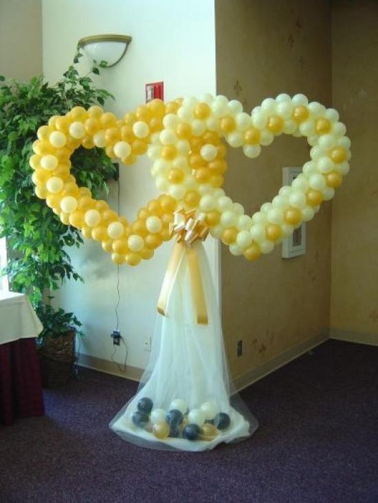 M s de 1000 im genes sobre decoraciones con globos en - Decoracion bodas con globos ...