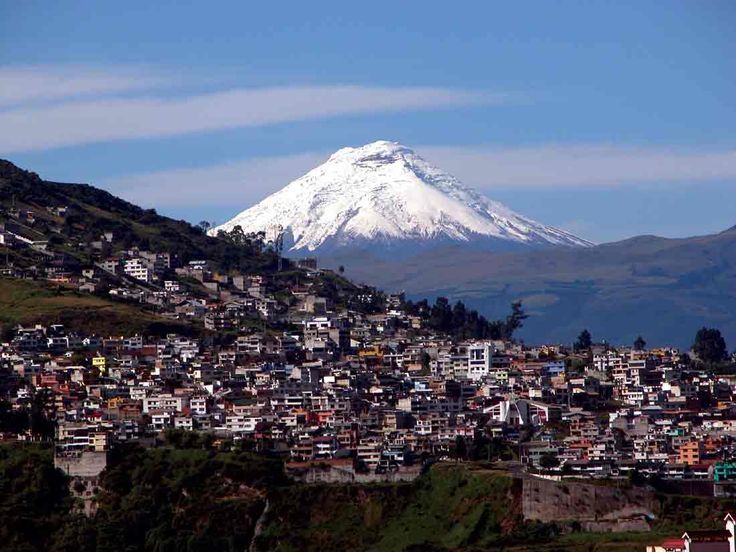 Been there ~ dlm.  Quito Ecuador.  Beautiful place, beautiful people.
