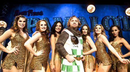 Pressemøde i Koncertsalen i Tivoli på ny musical Monty Pyton - Spamalot