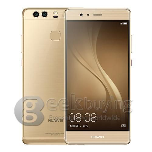 Image of Huawei P9 Plus 5.5inch FHD 4G Smartphone Kirin 955 Octa Core Android 6.0 4GB 64GB Dual 12.0MP Rear Cameras Touch ID Remote Control Type-C Fast Charge - Gold