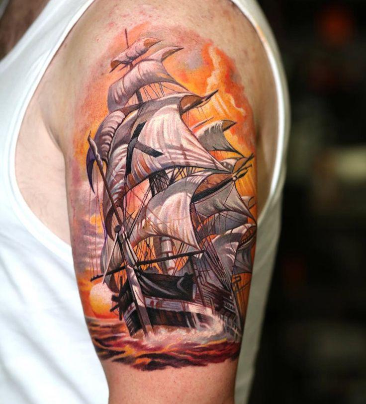 Tattoo Forearm Ink Theme Sailor Tattoos Shoulder