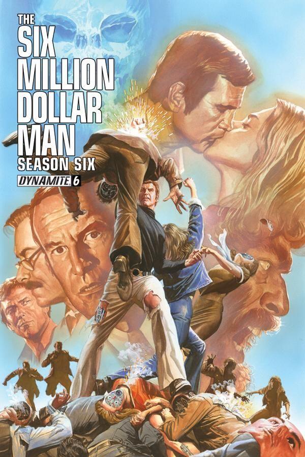Six Million Dollar Man by Alex Ross