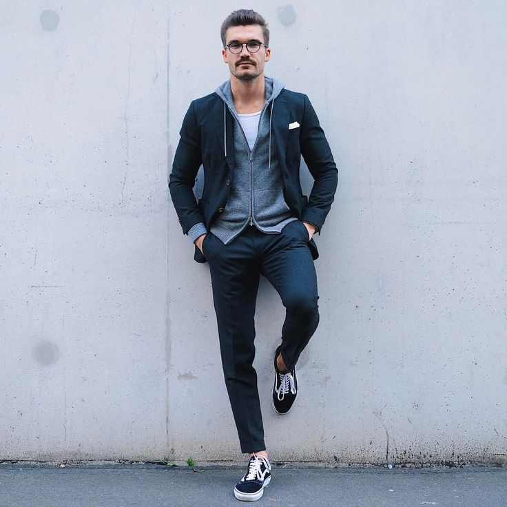 """3,278 Likes, 71 Comments - Justus Frederic Hansen (@justusf_hansen) on Instagram: """"Q: What do suits and sneakers have in common?  A: Justus Hansen  enjoy your weekend guys  - …"""""""