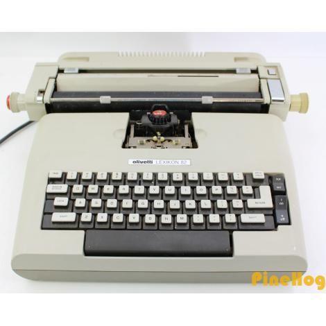 For Sale: Vintage Olivetti Lexikon 82 Retro Electric Typewriter