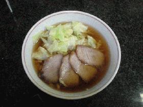 簡単ラーメンスープ(醤油味)