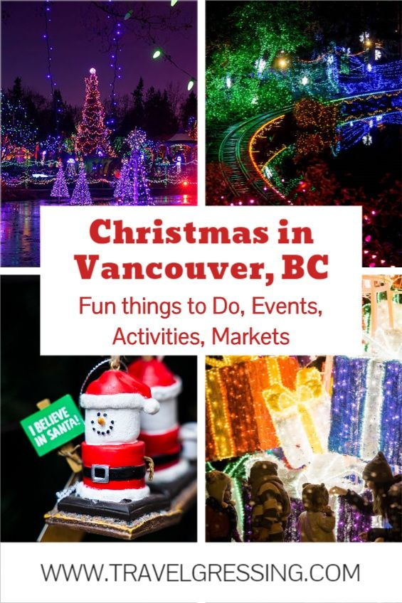 Fun Things To Do In Vancouver Bc During Christmas In 2020 Christmas Things To Do Fun Things To Do Trip Planning