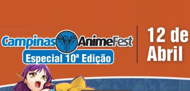 O 10º Campinas Anime Fest está chegando! Programe-se para não perder nada e aproveitar ao máximo todas as atrações!