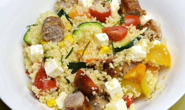Recept: Couscous met chipolata worst