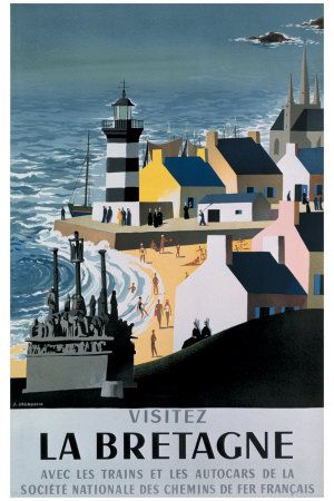 La Bretagne Giclee Print