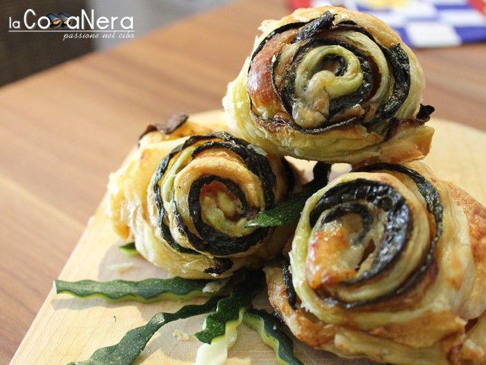 Rose di zucchine alla besciamella - Ricette cucina - Ricette online di Lacozzanera