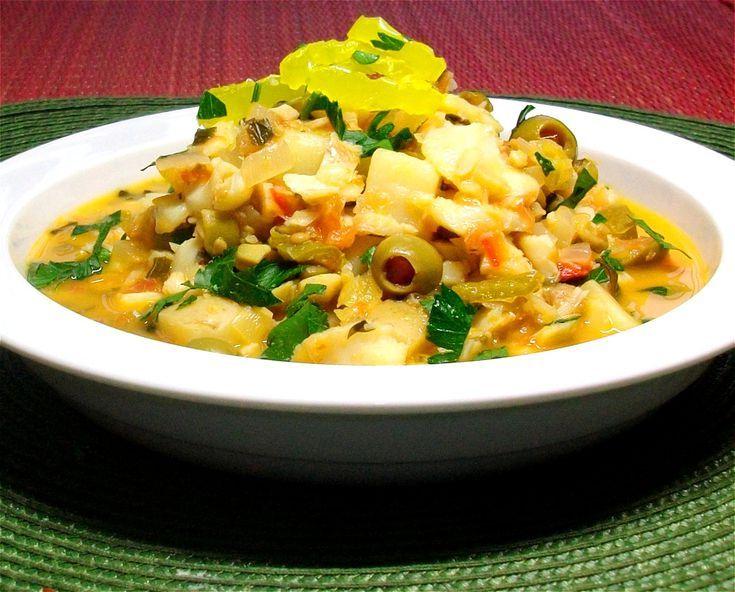 9 Formas de cocinar pescado blanco con sabor mexicano: Bacalao a la vizcaína (versión mexicana)