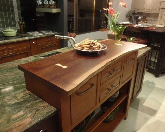 78 images about countertops on pinterest islands for Live edge kitchen island