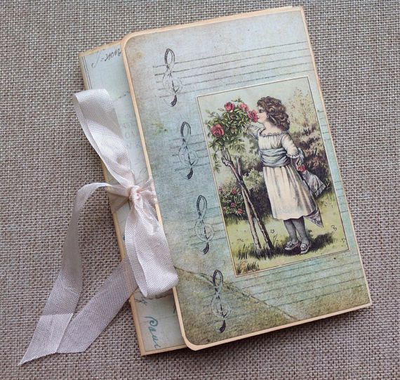 This Little Handmade Albumjunk Journal Provides A Sweet Space To