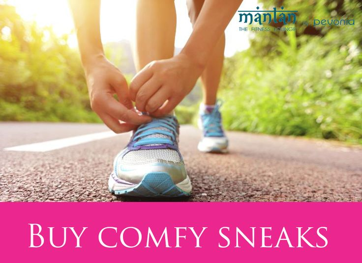Your shoes should feel comfortable from the first step,Also make sure the sneaks are a little roomy—enough so that you can wiggle your toes, but no more than that. #Fitness #mantan #tipoftheday #thefitnesslounge #pevonia #motivation