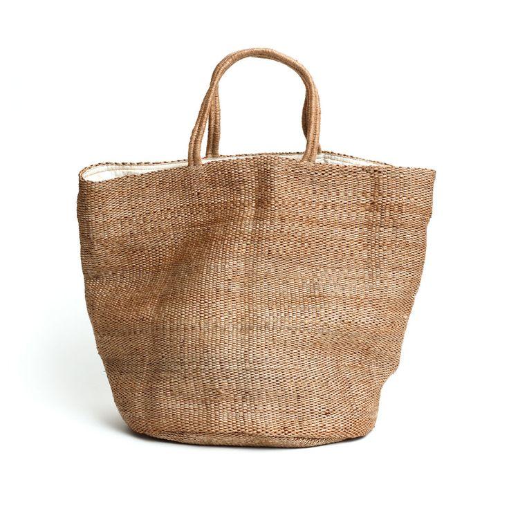 Hand Woven Jute Tote Bag Natural | The Future Kept