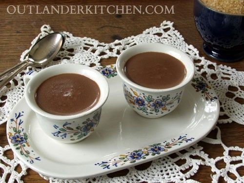 Hot Chocolate with La Dame Blanche