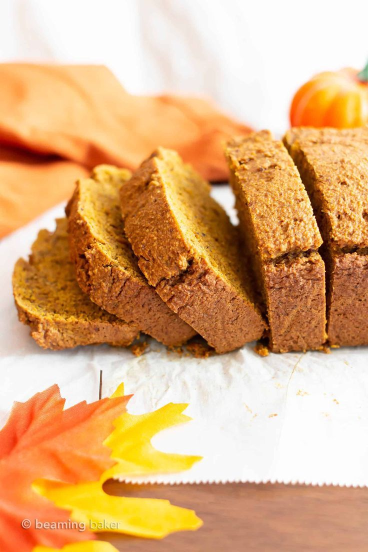 Gluten Free Vegan Pumpkin Bread Gf This Moist Classic Gluten