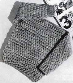 Speed Knit Pullover Pattern
