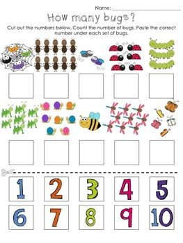 CUT & PASTE ACTIVITIES: MONTHS, DAYS, NUMBERS, LETTERS, RHYMES, OPPOSITES & MORE - TeachersPayTeachers.com