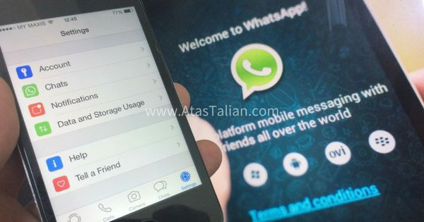 Aplikasi Whatsapp Pada Telefon Lama