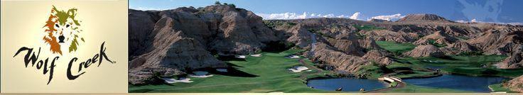Las Vegas, Nevada - Mesquite Courses - Wolf Creek Golf Resort -