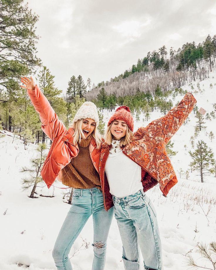 красивые зимние фотографии с подругой полная потеря индивидуальности