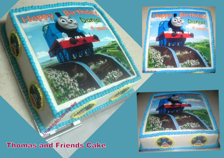 thomas and friends cake - Google Search
