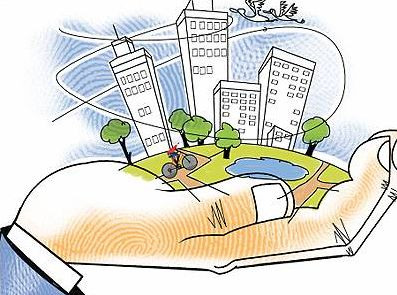 India has an urban housing shortage of about 18.7 million units, with 95 per cent of this shortfall in the low- cost housing segment, and 43.7 million in the rural belt:http://bit.ly/1iYOySD