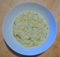 Risotto, Garlic and Green on Pinterest