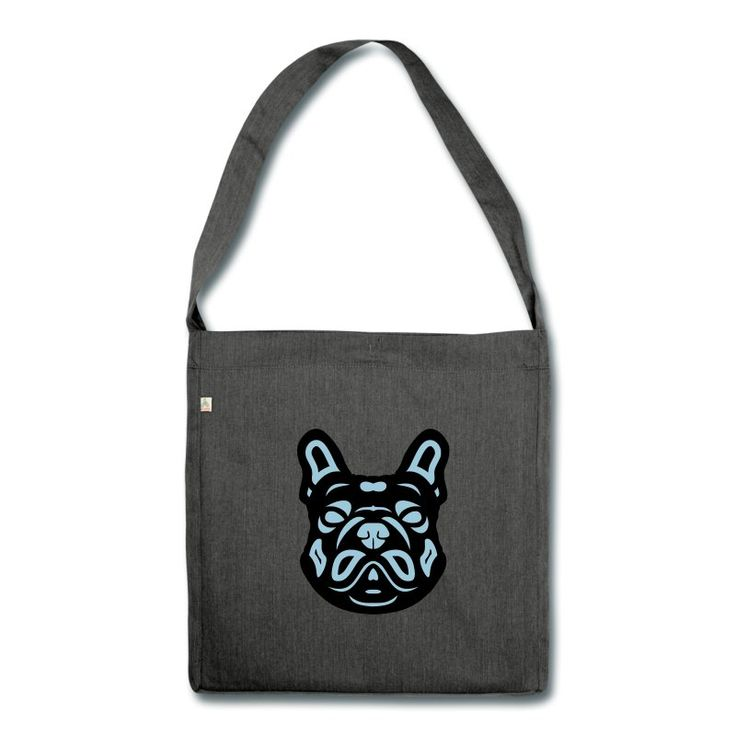 Schultertasche | French Bulldog Françis 2F von Manuel Süess | Erhältlich via https://shop.spreadshirt.de/HundeDesigns/schultertasche+french+bulldog+francis+2f-A110108946