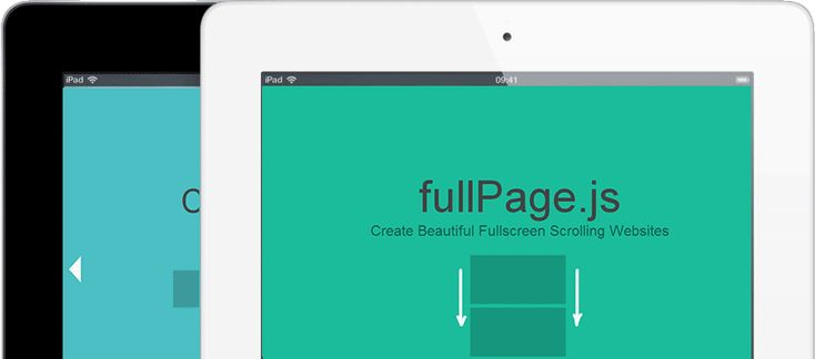 Jquery full page website plugin